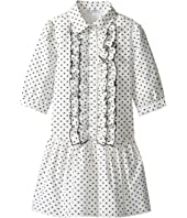 Dolce & Gabbana Kids - Tropical City Long Sleeve Dress (Toddler/Little Kids)