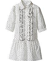 Dolce & Gabbana Kids - Tropical City Long Sleeve Dress (Toddler/Little Kids)