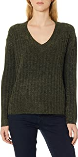 Pieces Pcnew Sanni Ls Wool V-Neck Knit Kadın Bluz Ve Gömlek