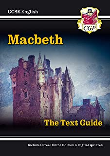 New GCSE English Shakespeare Text Guide - Macbeth includes Online Edition & Quizzes