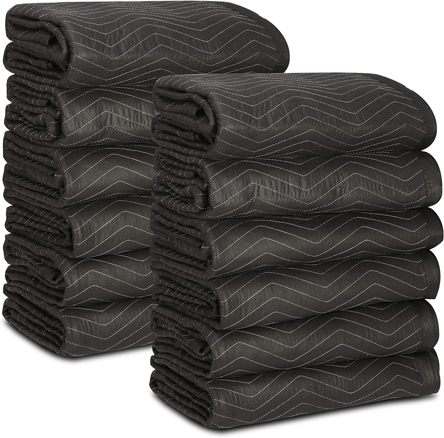 Max 50% Seasonal Wrap Introduction OFF ZENY 12 Heavy Duty Moving Blankets Movin Quilted Blanket Packing