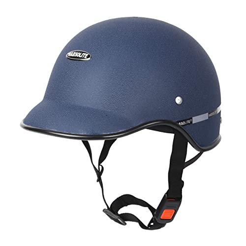 Motofy Hadsolite All Purpose Safety Helmet with Long Strap (Blue, Free Size)