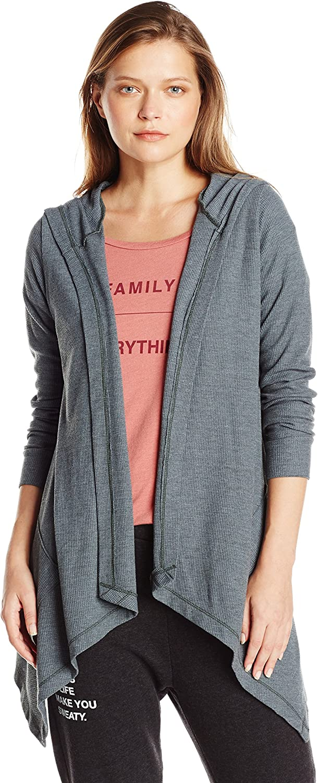 Good hYOUman Womens Kimberly Long Sleeve Hooded Cardigan Shirt