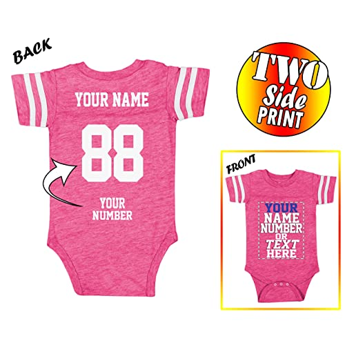 0b12136de Custom Jerseys for Babies - Make Your OWN Jersey Onesie - Personalized Baby  Onesies   Newborn