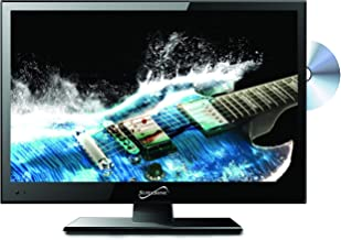 """SuperSonic SC-1512 LED Widescreen HDTV & Monitor 15.6"""", Built-in DVD Player with HDMI, USB, SD & AC/DC Input: DVD/CD/CDR H..."""