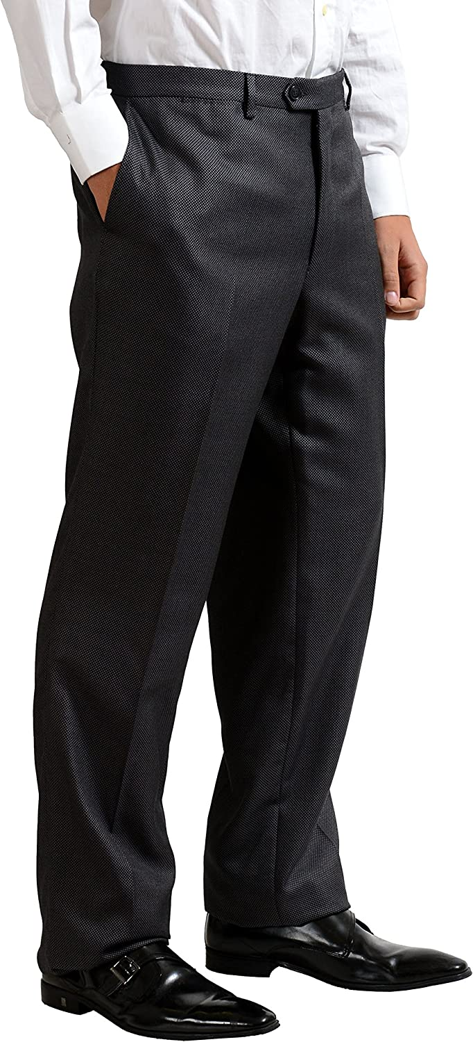 Versace Collection Men's Gray Wool Silk Two Button Suit US 46 IT 56