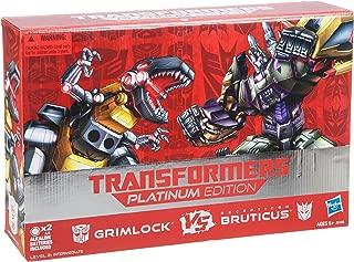 Transformers Platinum Edition Grimlock Vs. Decepticon Bruticus Figure Pack