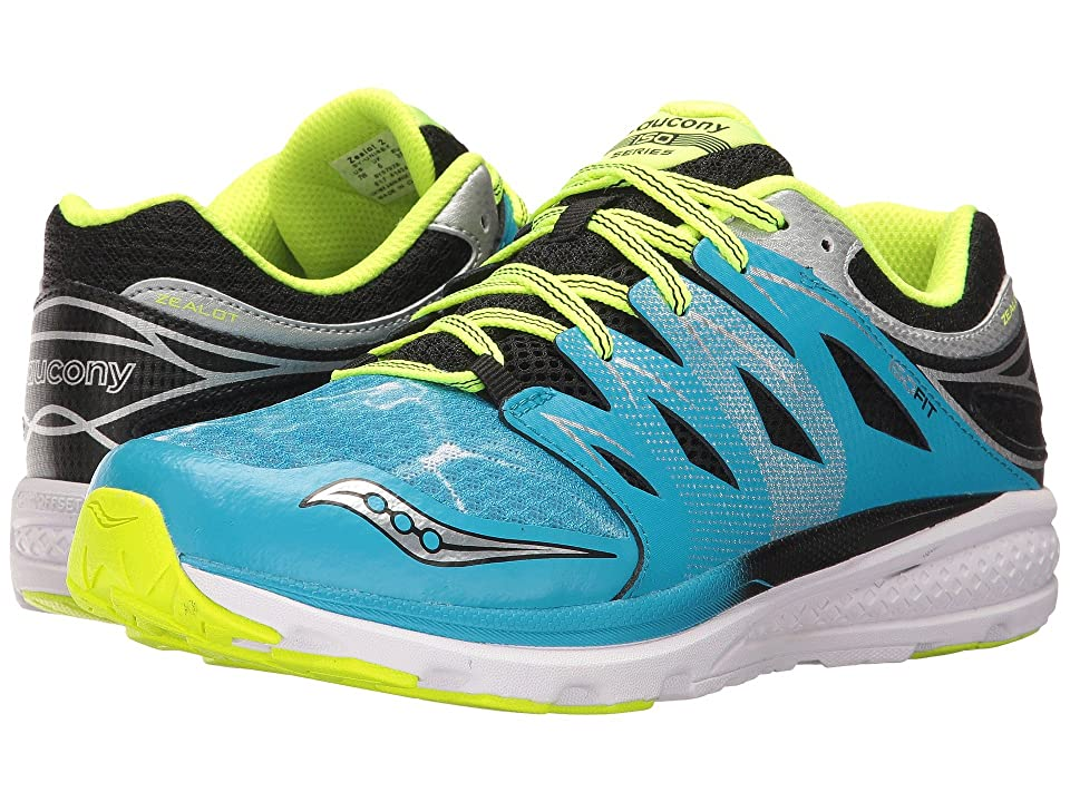 Saucony Kids Zealot 2 (Little Kid) (Ocean Wave) Kids Shoes