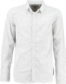 Garcia Jungen Hemd, festliches Langarmhemd, weiß C93431