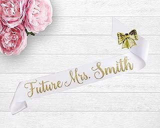 Future Mrs. Bridal Shower Sash