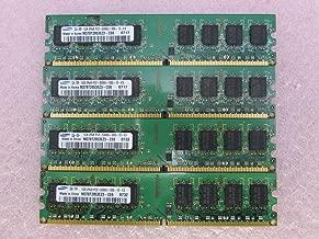 Samsung M378T2953EZ3-CE6 4GB 4 x 1GB PC2-5300U DDR2 667 NonECC Unbuff Memory Kit