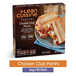 LEAN CUISINE COMFORT Chicken Club Panini 6 oz. Box | Delicious Frozen Meals
