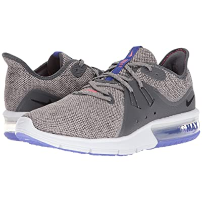 Nike Air Max Sequent 3 (Dark Grey/Black/Moon Particle) Men