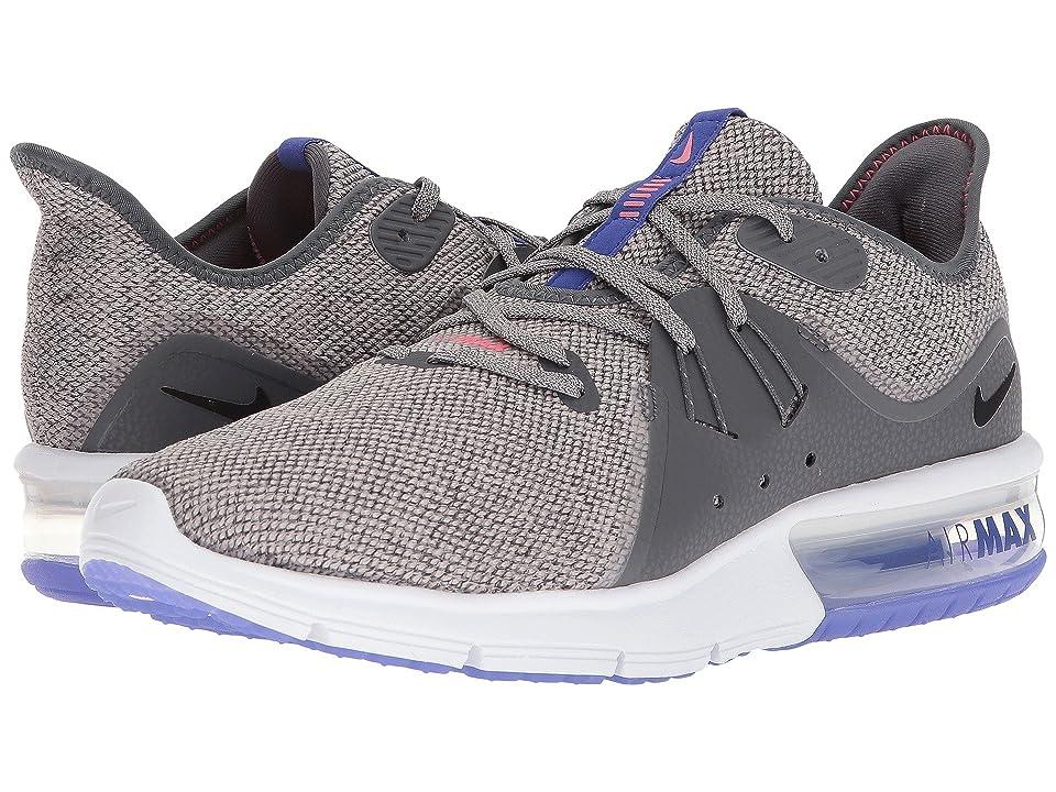 Nike Air Max Sequent 3 (Dark Grey/Black/Moon Particle) Men