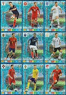 Panini Adrenalyn Xl Uefa Euro 2020 Croacia equipo completo de 18 Cartas Set-Euros