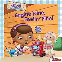 Doc McStuffins: Engine Nine, Feelin' Fine! (Disney Storybook (eBook))