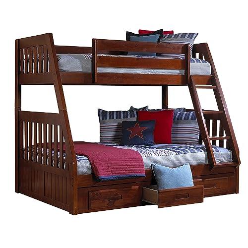 Kids Bunk Bed with Storage: Amazon.com