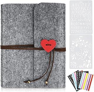 LOVEXIU Album Photo Scrapbooking,Album Photo Traditionnel Pages Noires Vierge,Pour Femme,Petite AMIE Anniversaire,RentréE ...