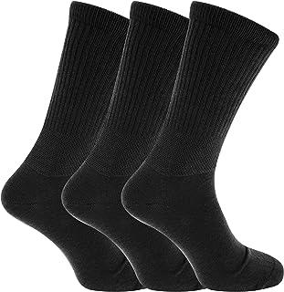 Severyn, calcetines para diabéticos ajuste confort extra anchos (3 pares)