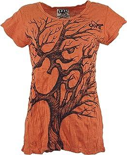 Dicotone Camicie Sure` GURU-SHOP Certo T-Shirt Univers Oliva Dimensione Indumenti:S 36