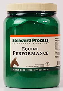 Standard Process - Equine Performance - Supports Nutrition, Cellular Activity, Muscle-Rebuilding, and Energy Levels - 30 oz.