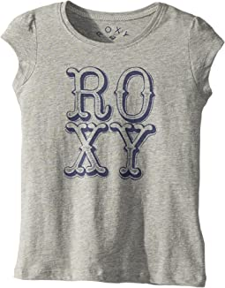 Roxy Kids - My Sun My Earth Tee (Toddler/Little Kids/Big Kids)