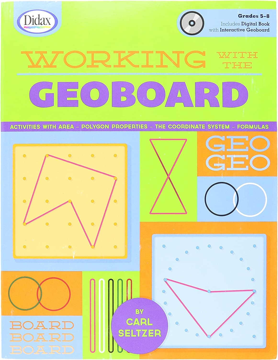 Didax Educational Resources Working with Geoboards, Gr. 58
