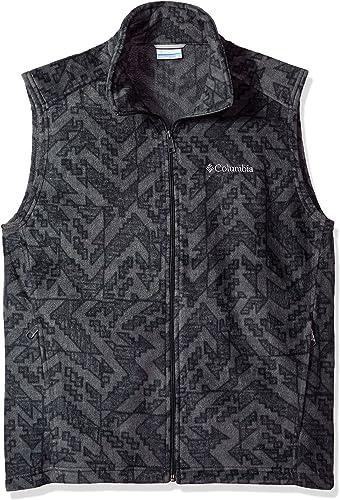 Columbia Men's Big and Tall Cascades Explorer Full Zip Fleece Jacket, Grill Galicut, Large