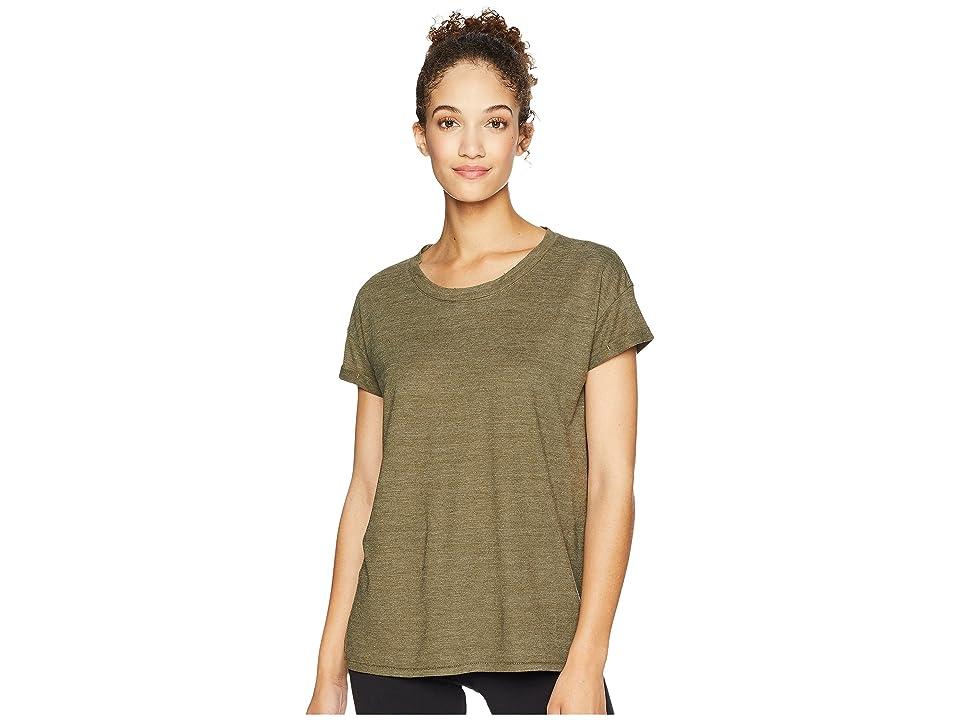 Prana Cozy Up T-Shirt (Cargo Green Heather) Women