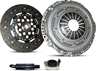 Stage 1 Clutch And Flywheel Conversion Kit Works With Vw Beetle Jetta Rabbit TDI 2.5 Wolfsburg Value Edition Gl Gls S Se Sport Hot Wheels 2005-2010 2.5L L5 GAS DOHC