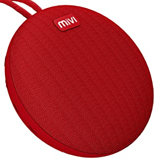 Mivi Roam Ultra-Portable Wireless Speaker with HD Sound, Booming Bass and 5Watts Peak Output-Red