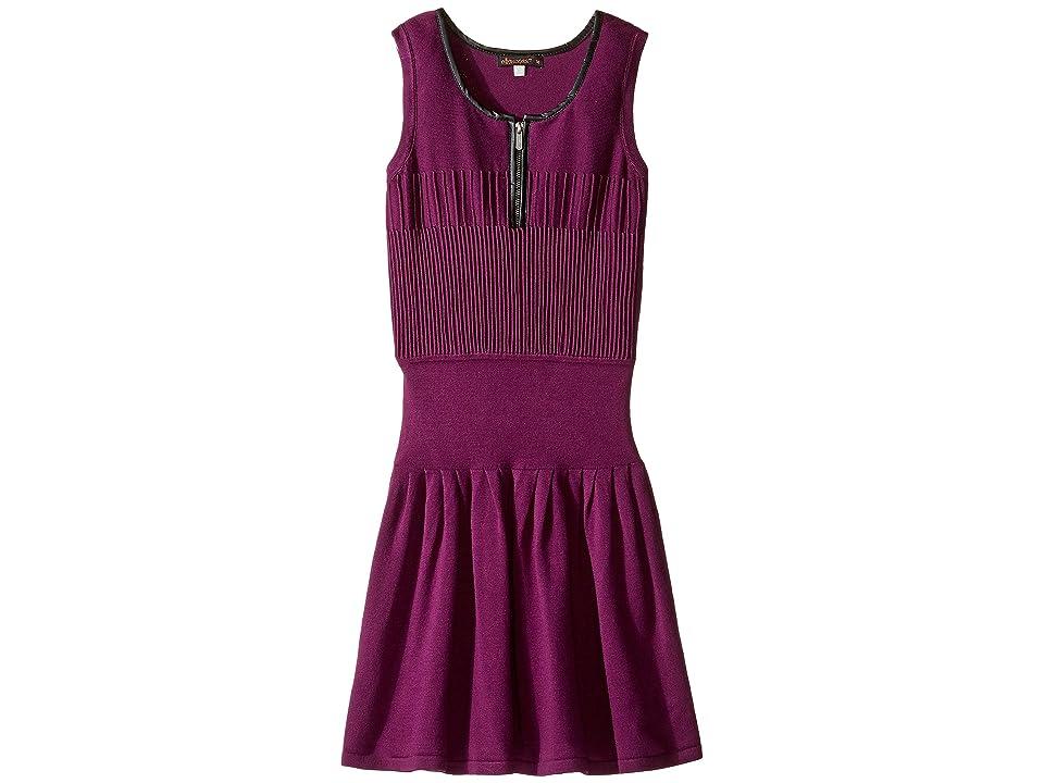 Ella Moss Girl Corra Sweater Dress (Big Kids) (Violet) Girl