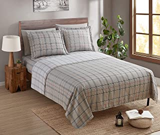 Clara Clark Bed Sheet Set with Extra Set Pillowcases, Premier 1800 Collection, Wrinkle, Fade & Stain Resistant, Twin Size,...