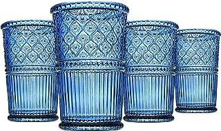 Godinger Highball Glasses, Tall Beverage Glass Cups - Claro,12oz, Set of 4