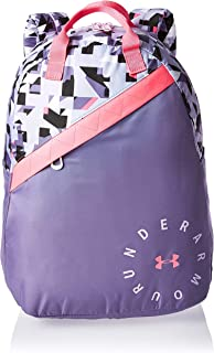 Under Armour Favorite Backpack 3.0 For Girls (Multicolour (Purple/Print) 1305315-520)