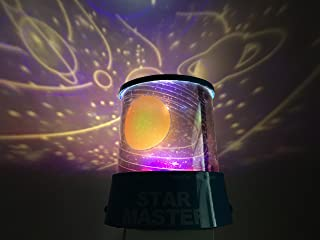 Aeeque Cosmos Led Light Projector Baby Night Light Relaxing Mood Master Projector Light Amazing Gift for Men Women Teens Kids Children Sleeping Aid