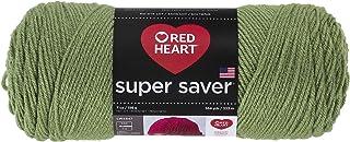 Coats: Yarn Red Heart Super Saver Yarn-Tea Leaf, Other, Multicoloured, 11.67 x 27.4 x 11.67 cm