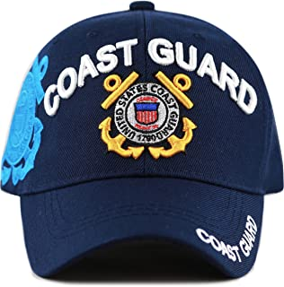 THE HAT DEPOT Official Licensed Military U.S. Coast Guard Cap