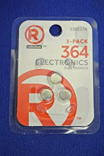 RadioShack 364 Button Cell Battery (3-Pack)