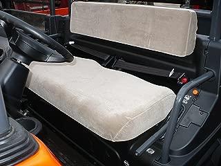 Durafit Seat Covers Kubota RTV 1100 Gray Velour Seat Covers