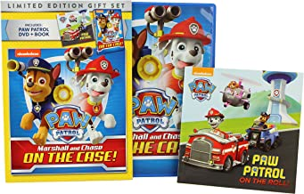 Paw Patrol Marshall and Chase On the Case! 8 episodes and video storybook