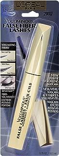 L'Oreal Paris Voluminous False Fiber Lashes Waterproof  Mascara,  290  Black, 0.35 Fluid Ounce