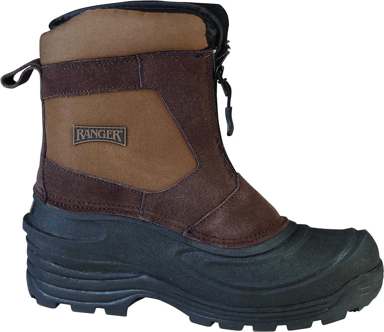 Ranger RP119-BRN-110 Flintlock Ii Men's Leather Thermolite 50DegreeF Winter Boot, Size 11, Brown