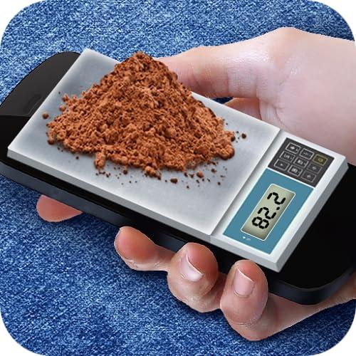 Medidor de peso. Simulador de balanças
