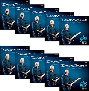 Best GHS Strings GB-DGF David Gilmour Signature Series, Nickel-Plated Electric Guitar Strings (.010-.048) Review