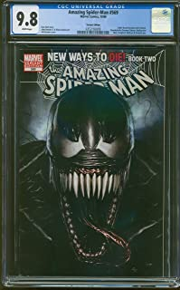 AMAZING SPIDERMAN 569 CGC-GRADED 9.8 NEAR MINT/MINT WHITE PAGES 18692
