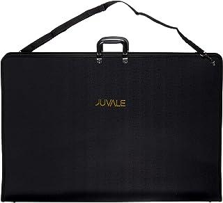 Juvale Art Portfolio Case with Handles - Artist Portfolios Case - Drawing Painting Sketch Bag Zipper Pocket Students Artists - Black, 35 x 24 x 1.5 Inches