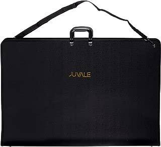 Juvale Art Portfolio Case Handles - Artist Portfolios Case - Drawing Painting Sketch Bag Zipper Pocket Students Artists - Black, 35 x 24 x 1.5 Inches