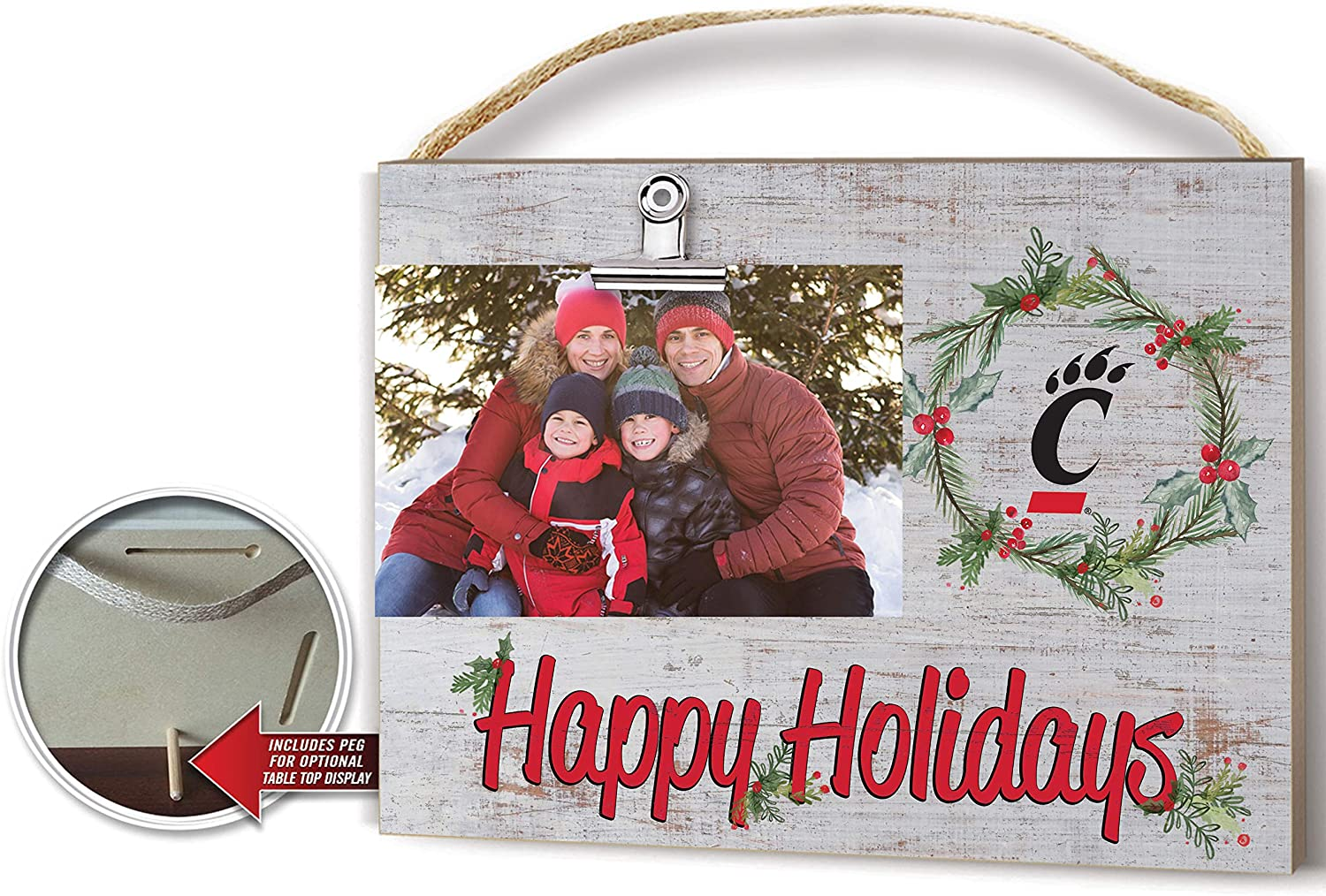 KH Sports Fan Clip It New product Colored Holidays Happy Frame Memphis Mall Cincinn Photo