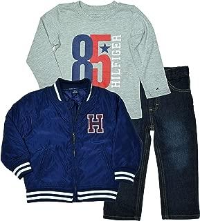 Little Boys' 3 Piece Jacket/Shirt/Jeans Outift Set